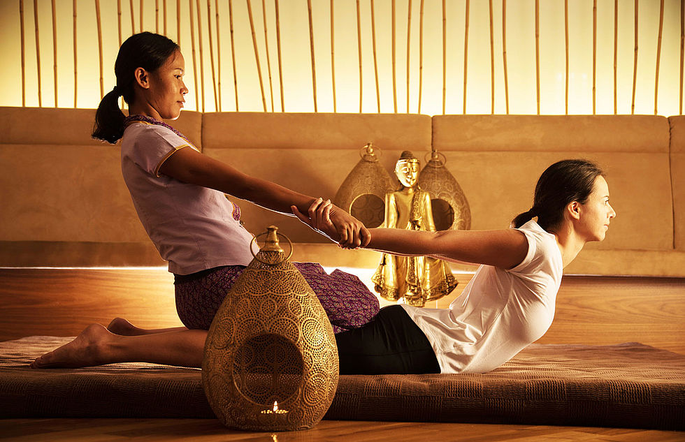 Thai-Massage im Hotel Larimar
