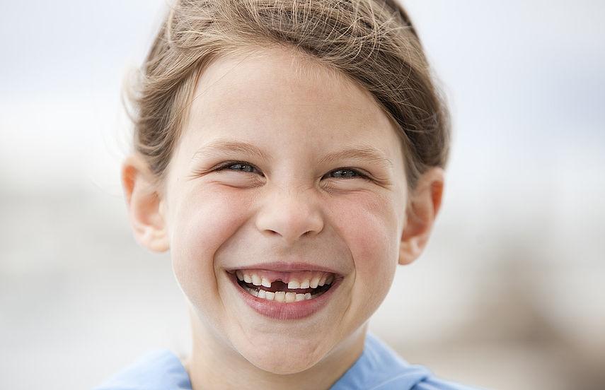 Zahnlücke Baby